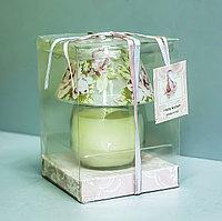 """Декоративная ароматическая свеча в подсвечнике """"Ночная лампа"""""""