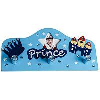 """Вешалка со стразами """"Prince/Princess"""", 15*31см, дерево"""