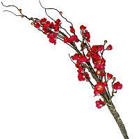 """Искусственные цветы """"Ветка сакуры"""", h-150см, пластик/резина"""