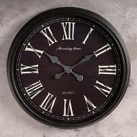 """Часы настенные """"Серафина"""", d-51 см пластик"""