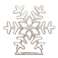 Уличное сетевое панно, Снежинка, d-80cм