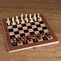Шахматные фигуры в пакете, дерево