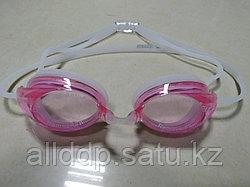 Очки для плавания Speedo Kids, розовые в футляре