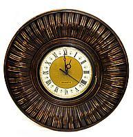 Часы, d-40см, дерево