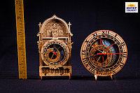 """Часы """"Прага"""", h-16см, дерево"""