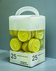 Набор чайных ароматических свечей (25 штук)