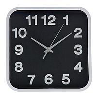 Часы настенные, 25,4*25,4см, пластик