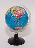 Глобус, d-8,5см, пластик