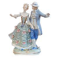 "Статуэтка ""Танцующая пара"" 36х30х20 см, фарфор"
