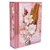 Фотоальбом для 100 фото в подарочной коробке, 26*21см, картон