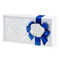 """Коробка подарочная """"Прекрасным молодоженам!"""", 4*18*9см, картон"""
