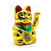 "Кот ""Манэки-нэко"" h-14,5см,пластик"