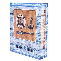 Фотоальбом детский для 100 фото в подарочной коробке, 26*21см, картон
