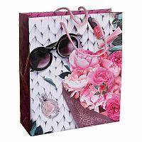 """Пакет """"Прекрасные цветы"""", 40*31см, ламинат, картон"""
