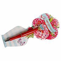 """Ручка подарочная на открытке""""Нежности и любви"""", 19*7см, пластик/картон"""