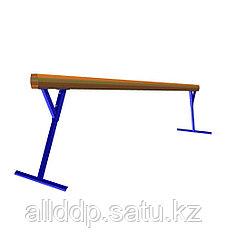 Бревно гимнастическое регул. высота 3м К209