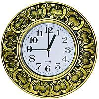 """Часы настенные """"Арабские узоры"""", 25,5*25,5см, пластик"""