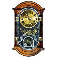 """Часы настенные """"Золотая лоза"""", 36*21,5см, пластик"""