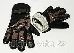 Тактические перчатки 24 см. Полнопалые
