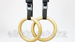 Кольца гимнастические (стропа+карабин) М004