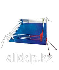 Ринг боксерский 6 х 6 м на растяжках гп59-21