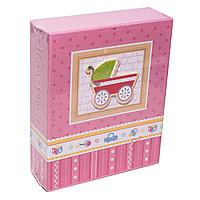Фотоальбом детский для 40 фото в подарочной коробке, 17*14см, картон