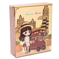 """Фотоальбом """" Париж""""для 40 фото в подарочной коробке, 17*14см, картон"""