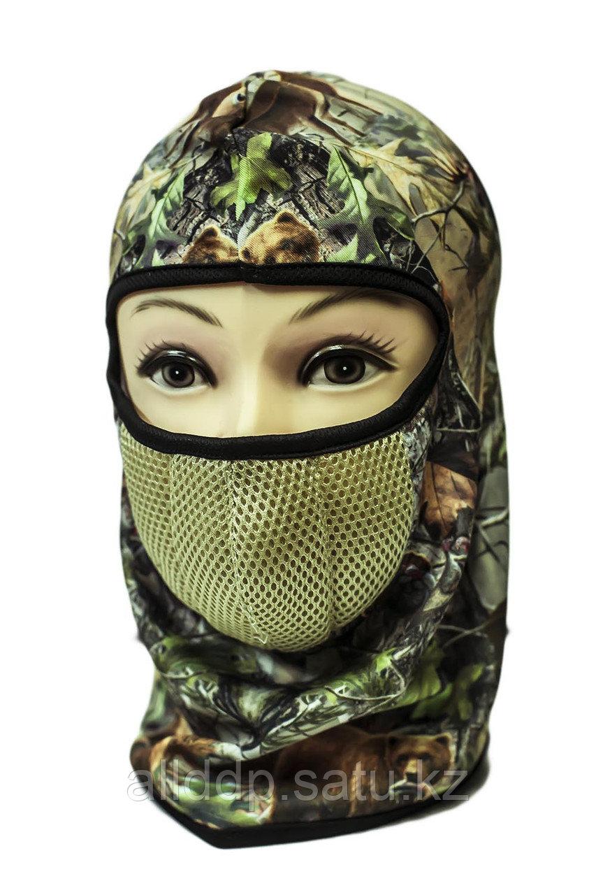 Маска-шлем, лес
