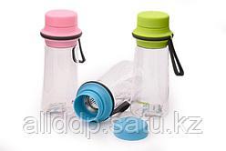 6847 FISSMAN Бутылка для воды 500 мл с фильтром (пластик, нерж. сталь)