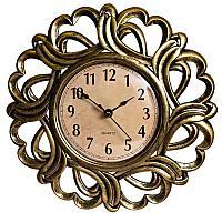 """Часы настенные """"Витое плетение"""", d-25см, пластик"""
