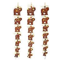 "Оберег ""7 слонов"", h-115см, керамика"