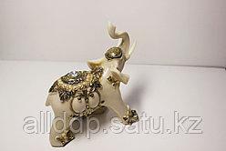 """Статуэтка """"Белый слон """", 16х14,5 (полистоун)"""