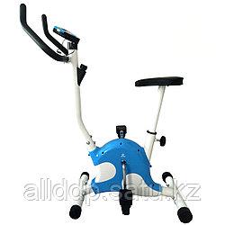 Велотренажер механический СПЛЭШ DFC VT-8012, синий
