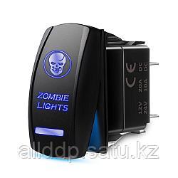 Переключатель (ВКЛ)/ВЫКЛ, синий, Zombie light