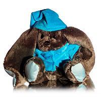 Мягкая игрушка зайка «Малыш Lu», h-18см, текстиль