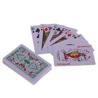 """Карты игральные - """"Рулетка"""" 8.8х5.8 см, пластик"""
