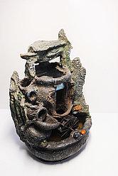 """Интерьерный фонтан-водопад """"Каменный грот"""" (28х14х16)"""