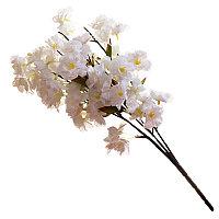 """Цветы искусственные """"Ветка яблони"""", h-55см, пластик/текстиль"""
