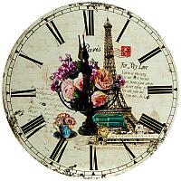 "Часы настенные ""Прованс"" d-30см, мдф"