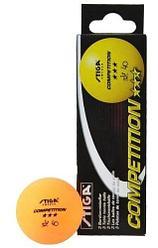 Шарики для настольного тенниса Stiga 3 Competition, 3 шт