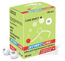 CLUB SELECT 1* (120 мячей в упаковке, белые)