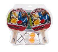 Набор для настольного тенниса 2* (4рак., 4 шар., крепл. и сетка) WinMax WMY06081