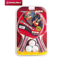 Набор настольного тенниса 3* (2 рак., 3 шар) WinMax WMY06050