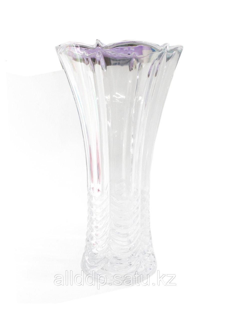 Настольная стеклянная ваза, 34 см