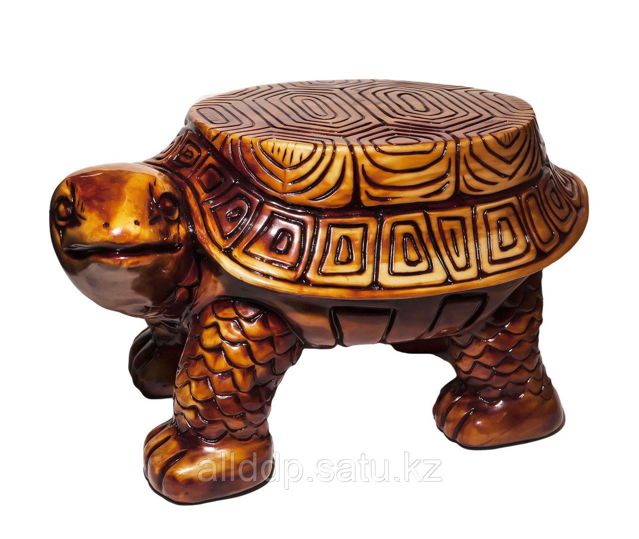 """Подставка """"Черепаха"""", 46*31*26 см, золотистый"""