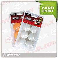 Шарики для настольного тенниса 6 шт. блистер WinMax WMY06159