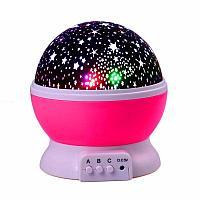 "Ночник-проектор ""Звёздное небо"" h-12см, пластик"