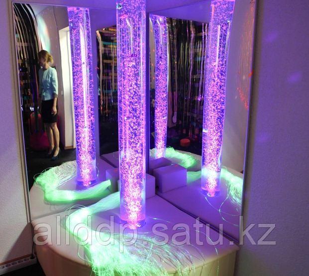 Воздушно-пузырьковая колонна, диаметр 10 см, высота 120 см