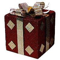 Коробочка с бантом (картон)