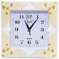 """Часы настенные """"Весеннее настроение"""", 26*26см, пластик"""